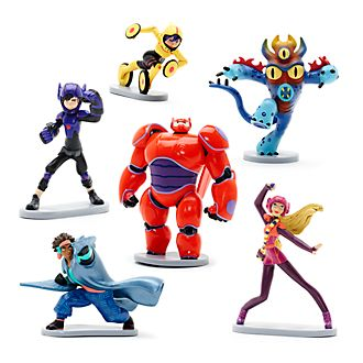 Disney Store Big Hero 6 Figurine Playset