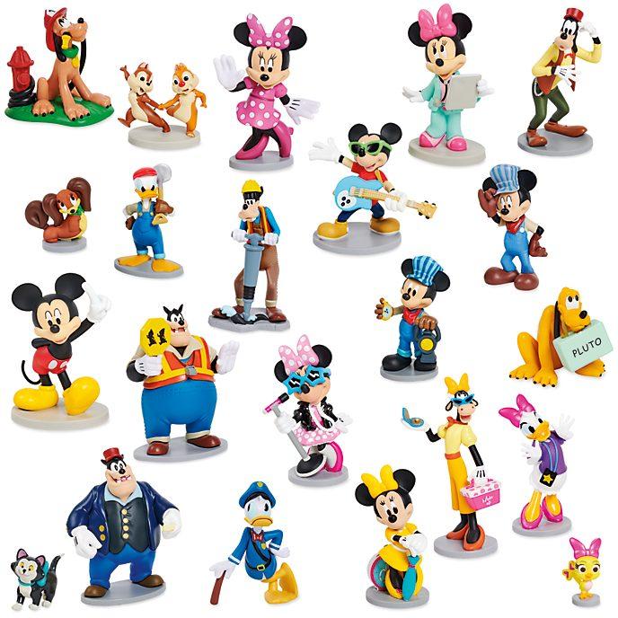 Disney store m ga coffret de figurines mickey et ses amis - Amis de mickey ...