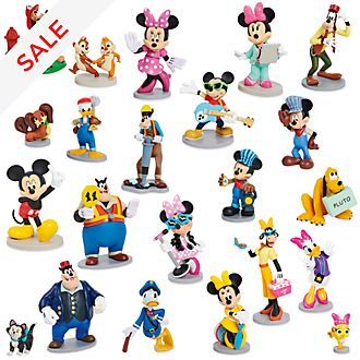 Disney Store Mickey and Friends Mega Figure Playset