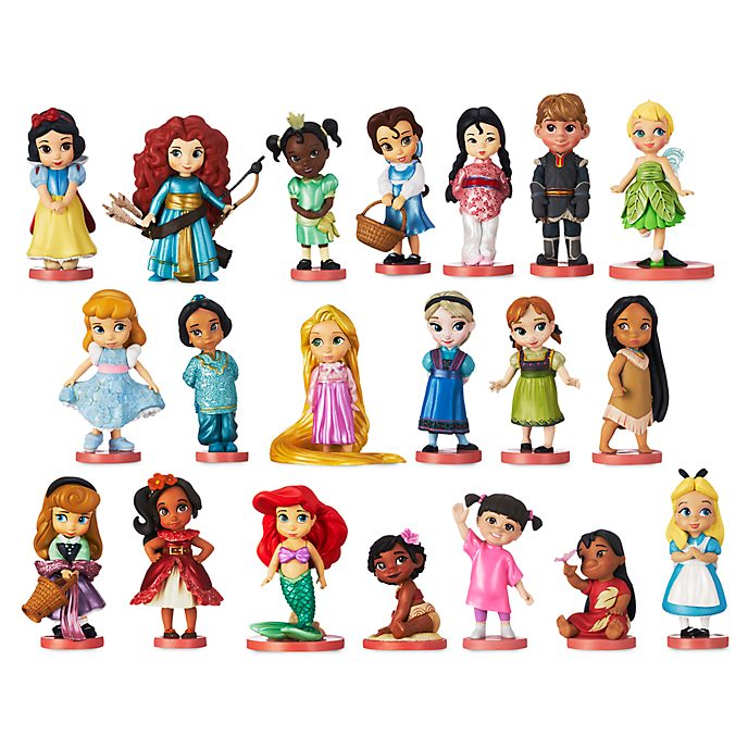 Disney Store Disney Animators' Collection Mega Figurine Playset