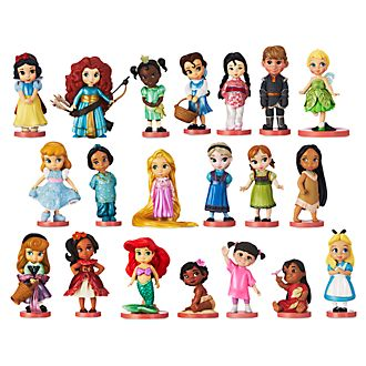 Disney Store Disney Animators'' Collection Mega Figurine Playset