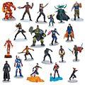 Disney Store Marvel 10th Anniversary Mega Figurine Playset