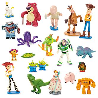 Disney Store Toy Story Mega Figurine Playset