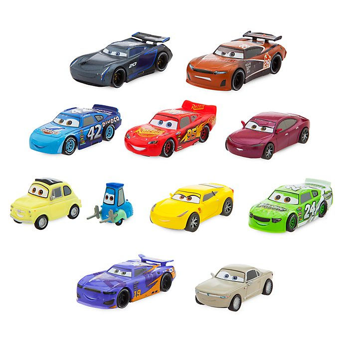 Disney Store Disney Pixar Cars 3 Deluxe Figurine Playset