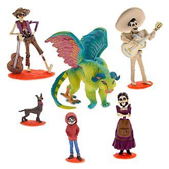 Set juego figuritas Coco, Disney Pixar, Disney Store