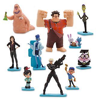 Set juego figuritas Ralph rompe Internet, Disney Store