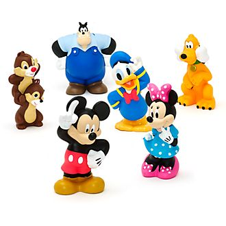 Disney Store Mickey and Friends Bath Toy Set