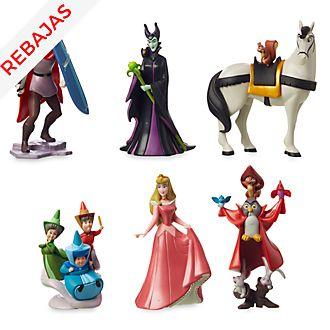 Set juego figuritas 60.º aniversario La bella durmiente, Disney Store