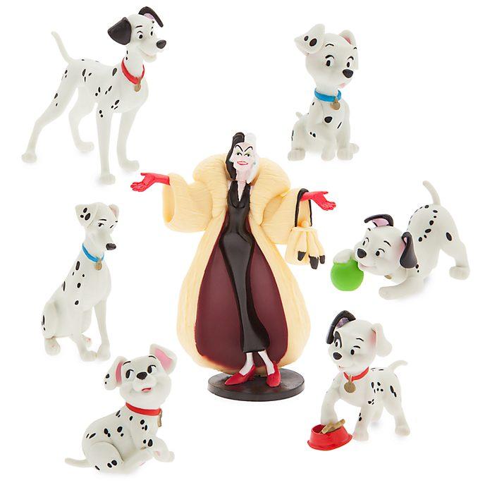 Set juego figuritas 101 Dálmatas, Disney Store