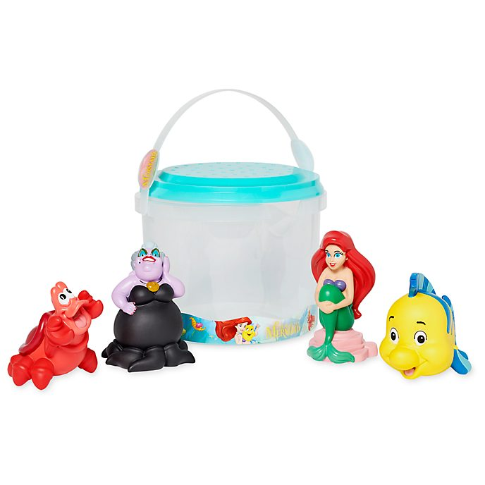 Disney Store The Little Mermaid Bath Toy Set