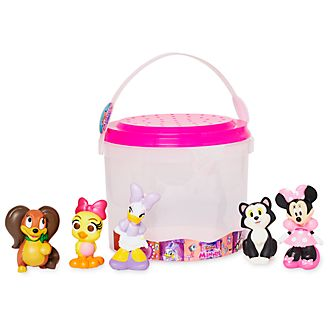 Disney Store Minnie Mouse Bath Toy Set