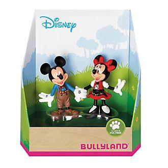 Bullyland - Minnie und Micky Maus in Bayern - Figurenset