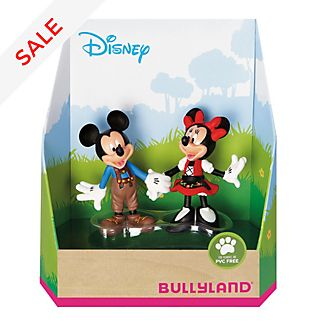 Bullyland - Minnie und Micky Maus in Bayern - Figurenset