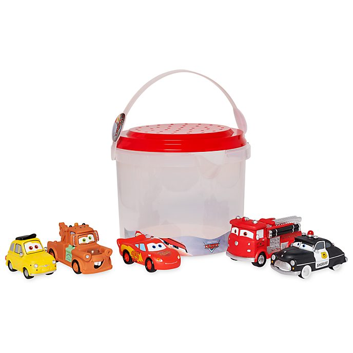 Disney Store Pixar Cars Bath Toy Set