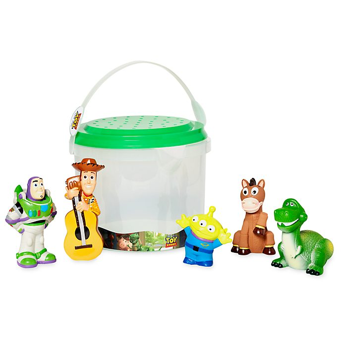 Disney Store Toy Story Bath Toy Set