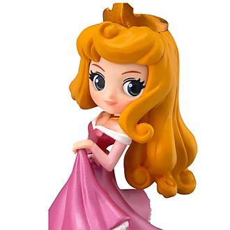 Figurita de Aurora de niña, La Bella Durmiente, Q Posket, Banpresto