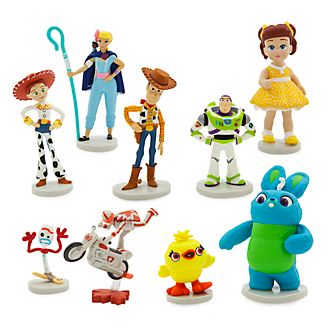 Disney Store Toy Story 4 Deluxe Figurine Playset