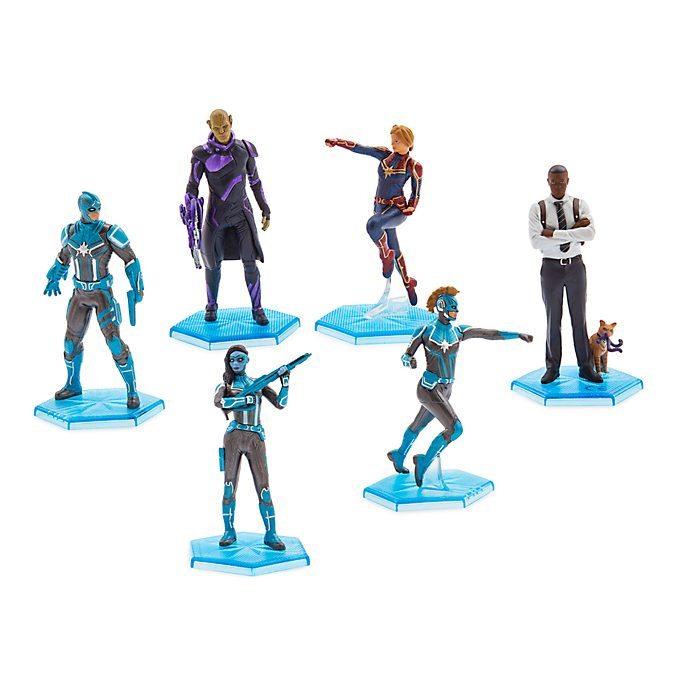 Disney Store Captain Marvel Figurine Playset