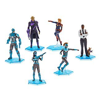 Disney Store Captain Marvel Figurine Playset