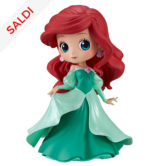 Personaggio colore verde Q Posket Banpresto Principessa Ariel