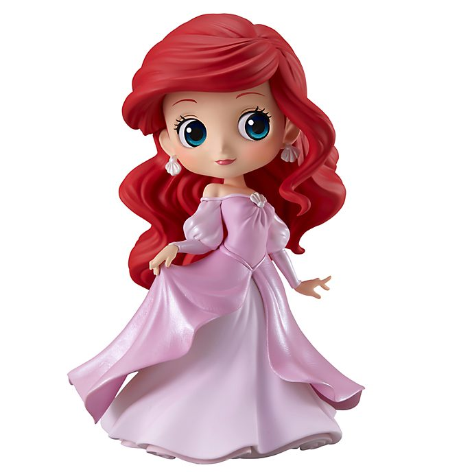 Banpresto Figurine QPosket Ariel version rose