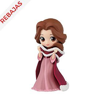 Figurita Bella de niña vestido invierno, Q Posket, Banpresto