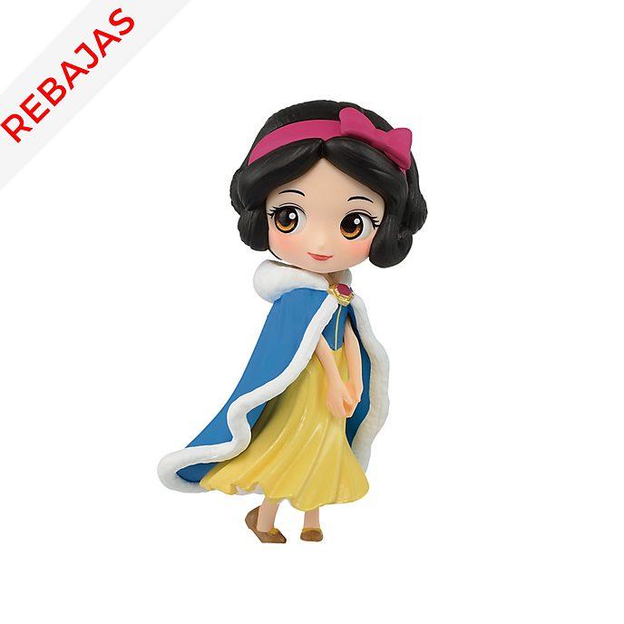 Figurita Blancanieves de niña vestido invierno, Q Posket, Banpresto
