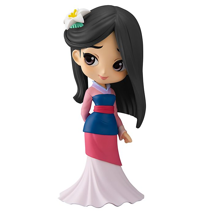 Banpresto Figurine Q Posket Mulan version pastel