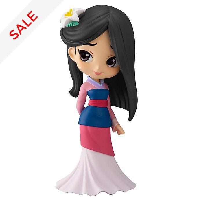 Banpresto - Mulan - Q Posket Figur in Pastellfarben