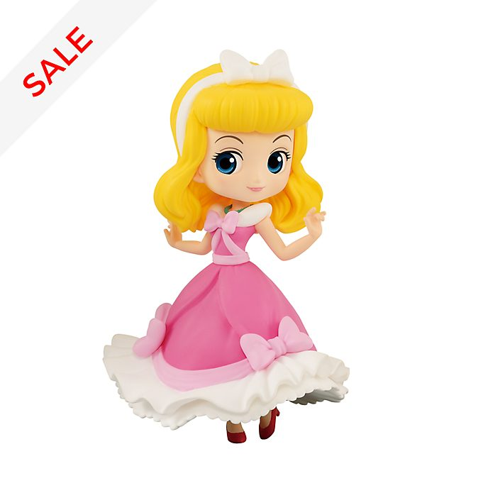 Banpresto - Cinderella - Pinkfarbene Q Posket Minifigur