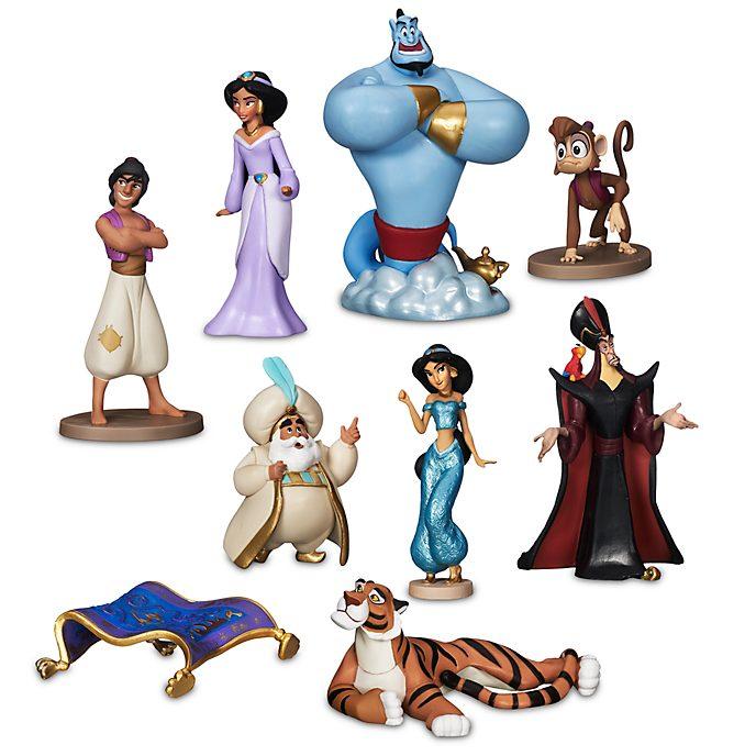 Disney Store Coffret deluxe de figurines Aladdin