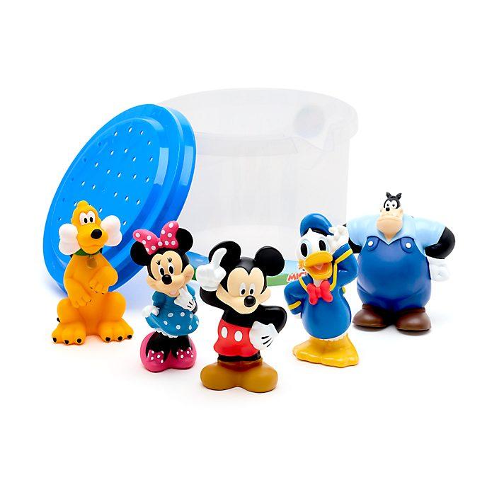 Set juguetes baño Mickey y sus amigos, Disney Store