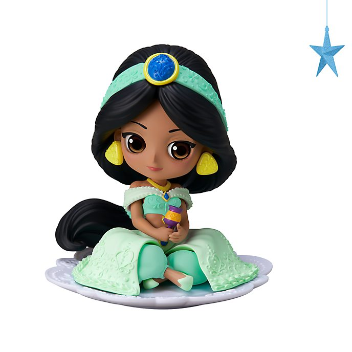 Personaggio pastello Principessa Jasmine Q Posket Banpresto