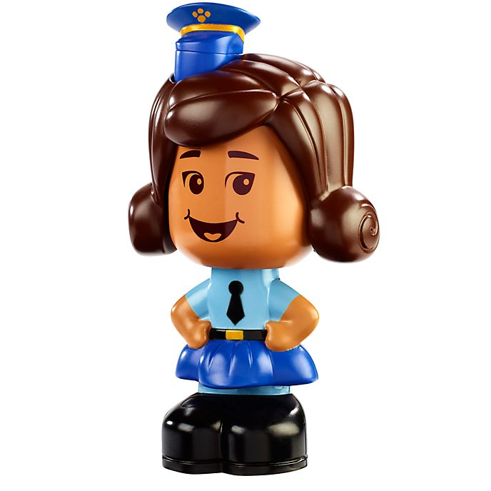 Mattel Figurine Officier Giggle McDimples parlante, Toy Story4