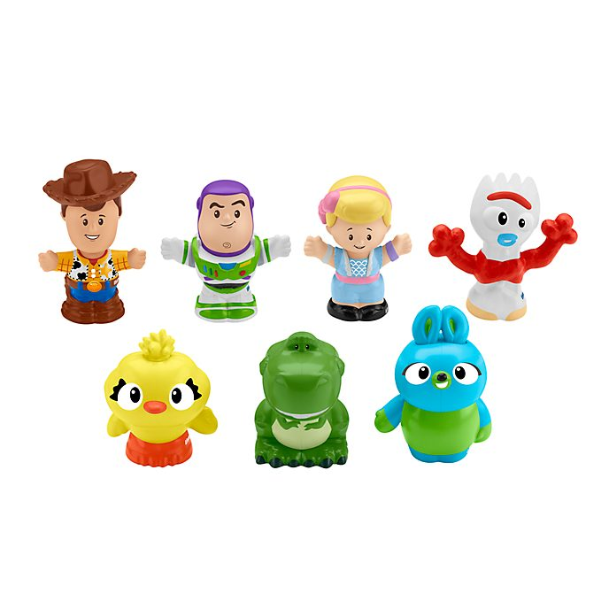 Fisher-Price Set da gioco personaggi Little People, Toy Story 4