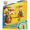 Imaginext Woody and Forky Action Figures, Toy Story 4
