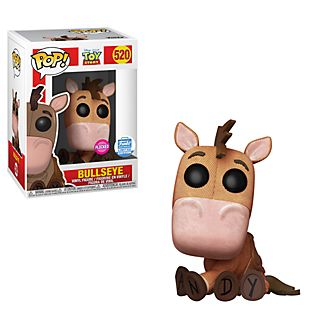 Funko Bullseye Flocked Pop! Vinyl Figure, Toy Story