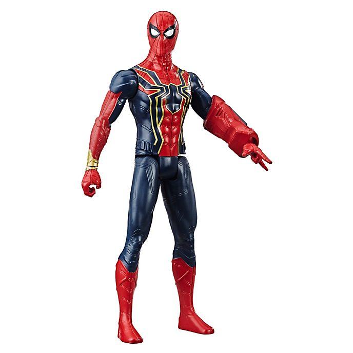 Hasbro, figura acción Iron Spider, Titan Hero Power FX