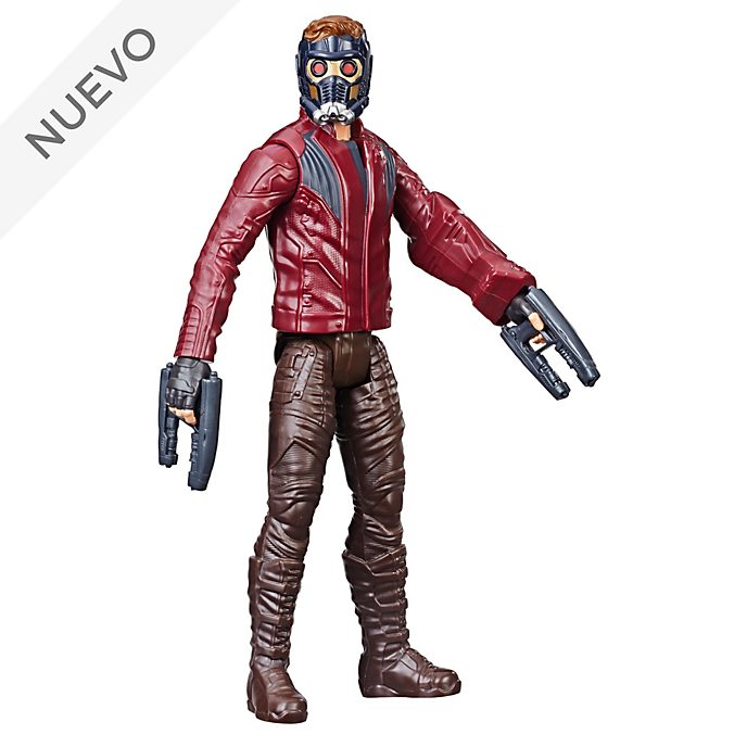 Hasbro, figura acción Star Lord, Titan Hero Power FX