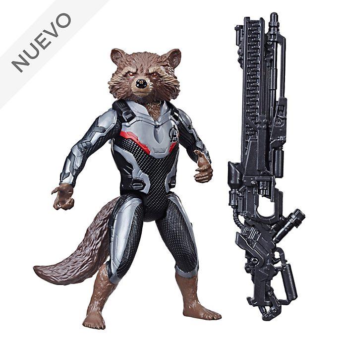Hasbro, figura acción Rocket Raccoon, Titan Hero Power FX