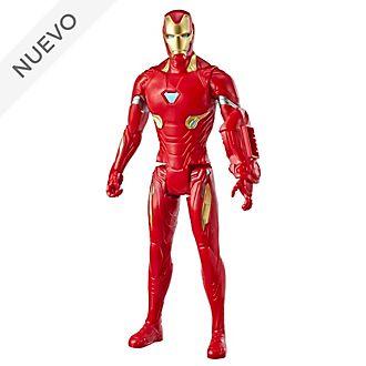 Figura acción Iron Man, Titan Hero Power FX, Hasbro