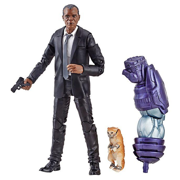 Hasbro Nick Fury 6'' Action Figure, Captain Marvel
