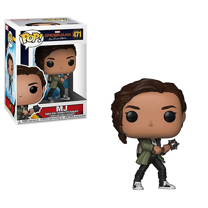 Funko - MJ - Pop! Vinylfigur, Spider-Man: Far From Home