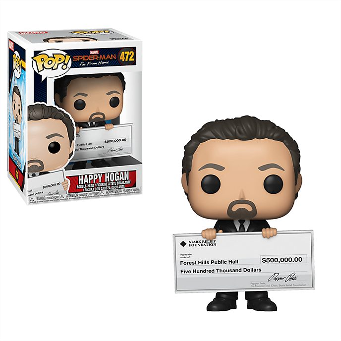 Personaggio in vinile Happy Hogan serie Pop! di Funko, Spider-Man: Far From Home