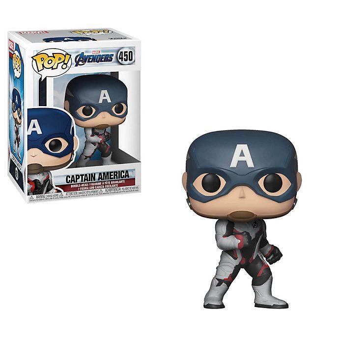 Figura vinilo Pop! Capitán América, Vengadores: Endgame, Funko