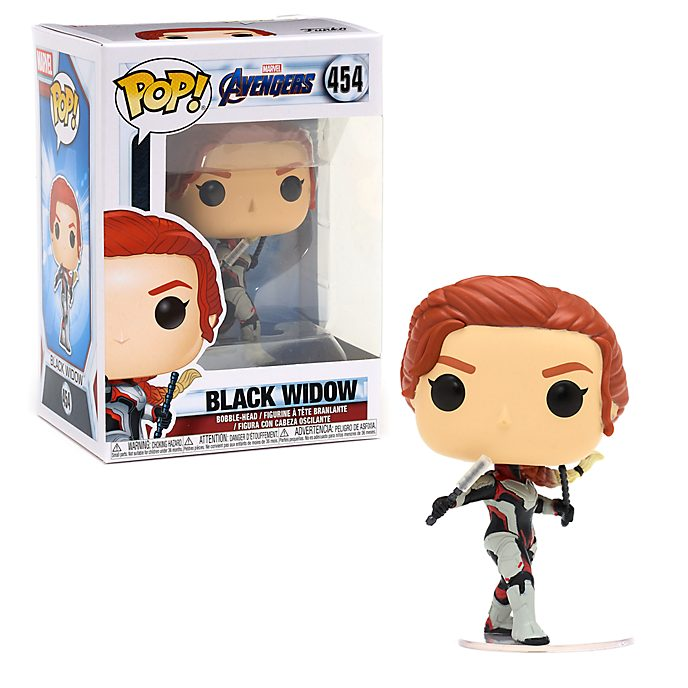 Funko - The Avengers: Endgame - Black Widow - Pop! Vinylfigur