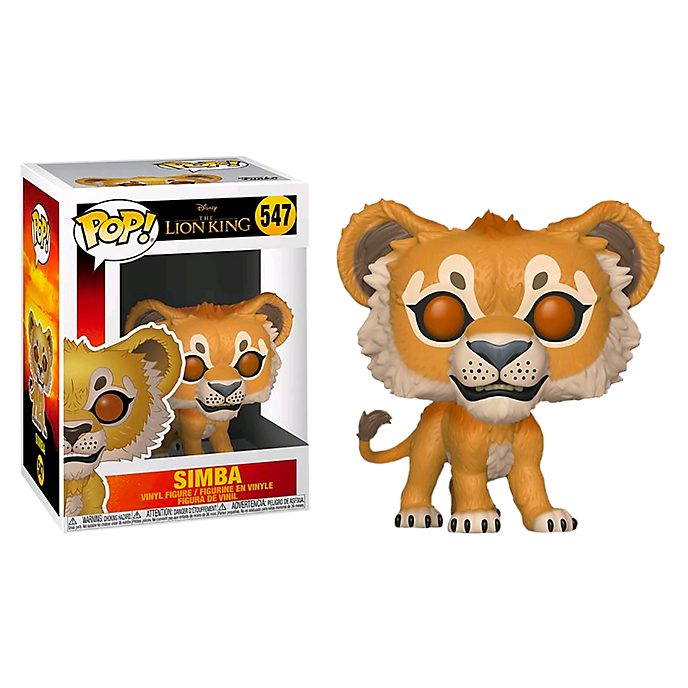Personaggio in vinile Simba serie Pop! di Funko, Il Re Leone