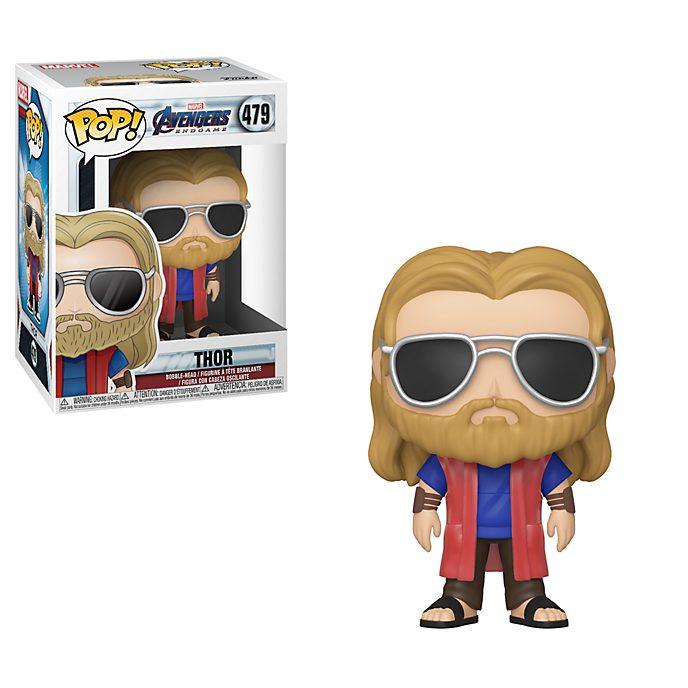 Personaggio in vinile Thor rilassato serie Pop! di Funko, Avengers: Endgame