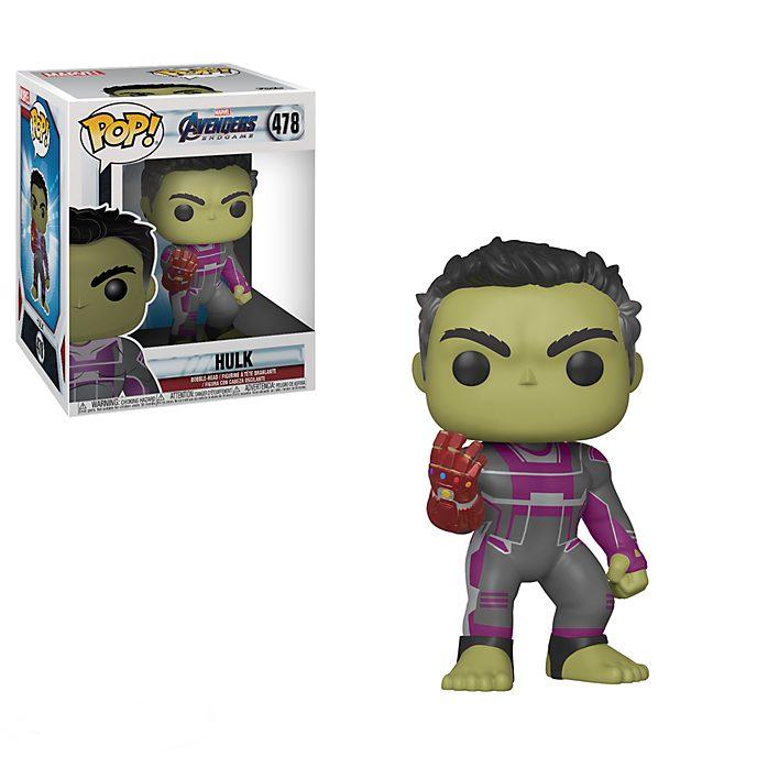 Personaggio in vinile Hulk con guanto nano serie Pop! di Funko, Avengers: Endgame