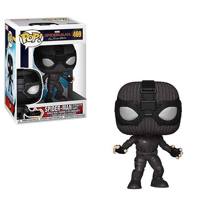 Funko - Spider-Man mit Tarnanzug - Pop! Vinylfigur
